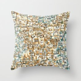 Be Headed Throw Pillow