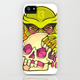 13 Burials - Lurking creature iPhone Case