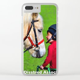 Riding for the Disabled Association Clear iPhone Case