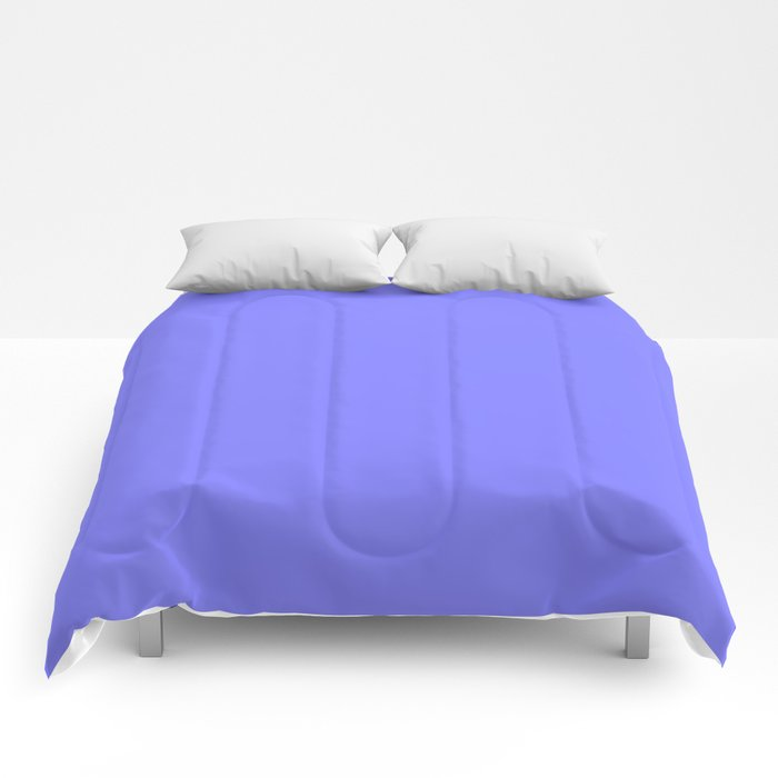 Periwinkle Solid Color Comforters