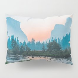 Pastel Yosemite #society6 #buyart Pillow Sham