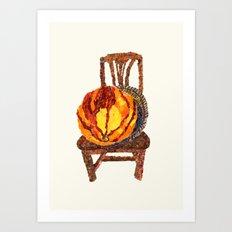 Kabocha Art Print
