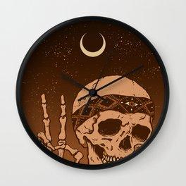 Headband Peace Sign Wall Clock