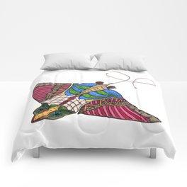 Colorful Stingray Comforters