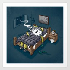 Sleep Modus Art Print