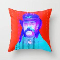 Gioconda Music Project · Lemmy · Motörhead Throw Pillow