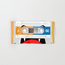 The cassette tape Vampire Hand & Bath Towel