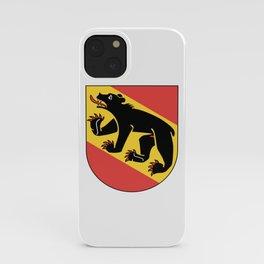 coast of arms of Bern iPhone Case