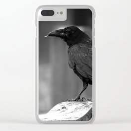 Found A Feather Clear iPhone Case