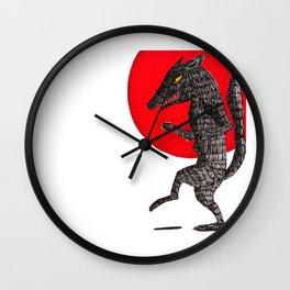 pas de loup Wall Clock