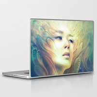 crown Laptop & iPad Skins featuring Crown by Anna Dittmann