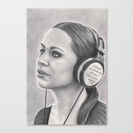 Musical Escapism Canvas Print