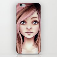 doll iPhone & iPod Skins featuring Doll by Stephanie W