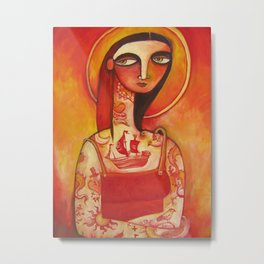 Lady Luck Metal Print