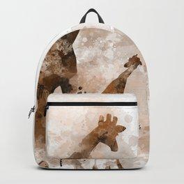 Giraffe and Baby Backpack