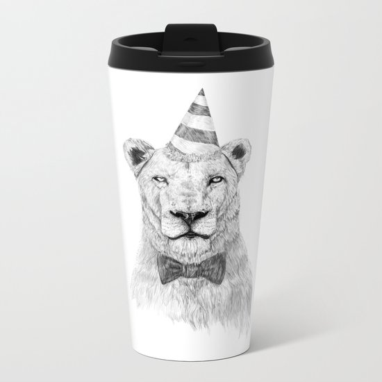 Get the party started Metal Travel Mug