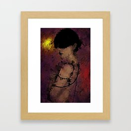 The Attrition of Nothing Framed Art Print