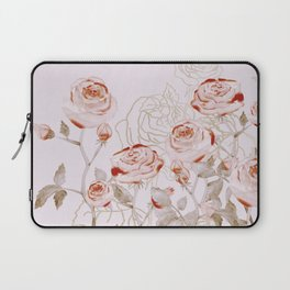 FRENCH PALE ROSES Laptop Sleeve