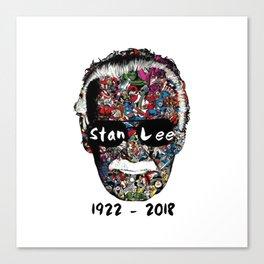 RIP Stan Lee Canvas Print