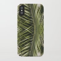 palm trees iPhone & iPod Cases featuring palm trees by iulia pironea