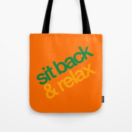 Sit Back & Relax - Citrus Tote Bag