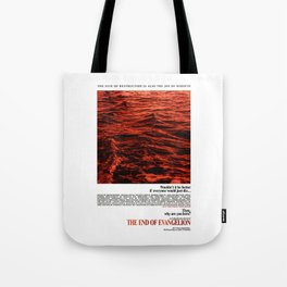 Movie Poster: The End of Evangelion v2 Tote Bag