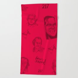 Here's Johnny!   Blood Beach Towel