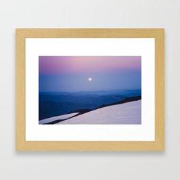 Summer Flashlight Framed Art Print