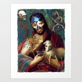 Santo Sangre Art Print