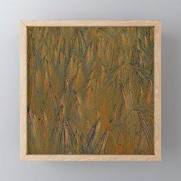 Field of barley III Framed Mini Art Print