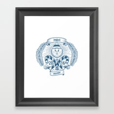 Xmas Delivery Framed Art Print