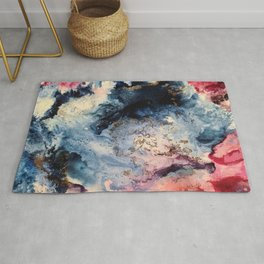 Rage - Alcohol Ink Painting Rug