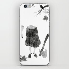 woodcutter iPhone Skin