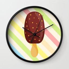 Vintg Ice Cream Wall Clock