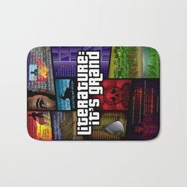 Grand Theft Literature Bath Mat