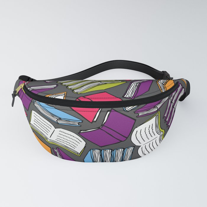 So Many Colorful Books... Fanny Pack