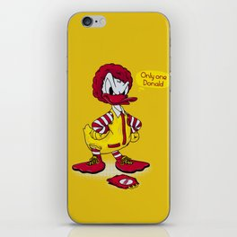 Donald iPhone Skin