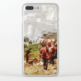 Operation Cottage, WWII Clear iPhone Case