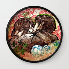Spring that hasn't come yet Wall Clock