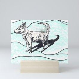 Nora dog Mini Art Print