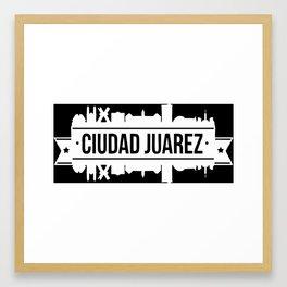 CD. JUAREZ Framed Art Print