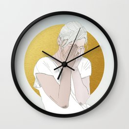 OUR INVENTIONS (Rest Your Head) Wall Clock