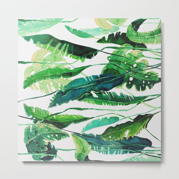 tropical compilation horiz. Metal Print