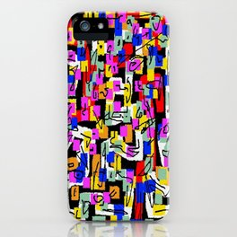 abstract laberinto iPhone Case