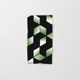 Elegant Origami Geometric Effect Design Hand & Bath Towel