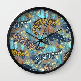 Heloderma Desert Wall Clock
