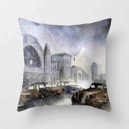 The collection of forgotten things Throw Pillow