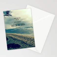 RAINING ON THE NORTH SHORE  Stationery Cards