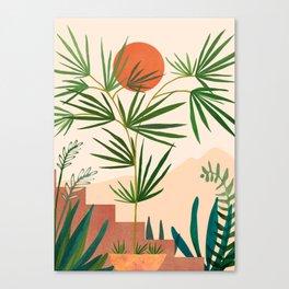 Weekend in Mojave / Desert Landscape Canvas Print
