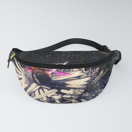 Bee on Asters_Anne_Metal_Old Fanny Pack